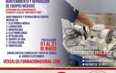 2da Corte del curso básico en mantenimiento y reparación de equipos médicos