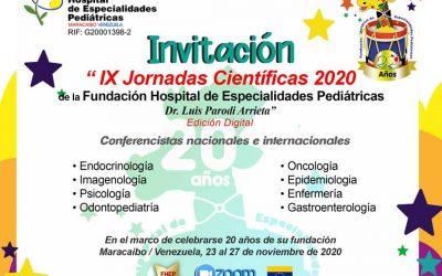IX  Jornadas científicas. Edición Digital. Dr. Luis Parodi Arrieta