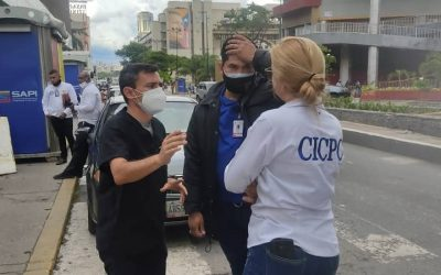 Realizado operativo contra el INTRUSISMO y ejercicio ilegal de la profesión, en Caracas, con el apoyo del CICPC