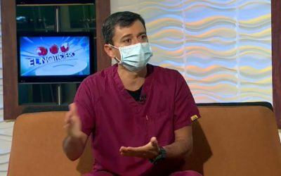 Entrevista al Dr Pablo Quintero Presidente del Colegio de Odontólogos de Venezuela en el noticiero de Televen