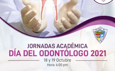 Jornadas Académica – Día del Odontólogo 2021
